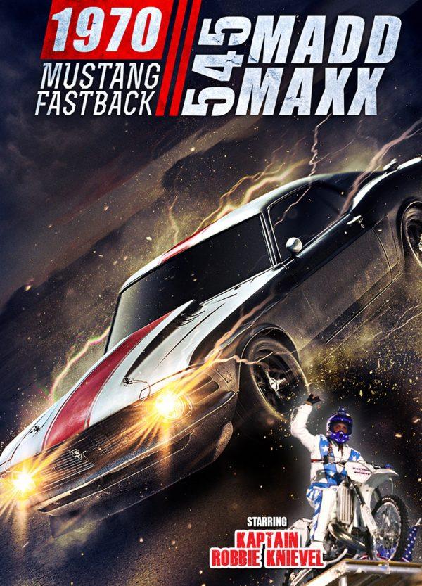545 Madd Maxx - 1970 Mustang Fastback-0