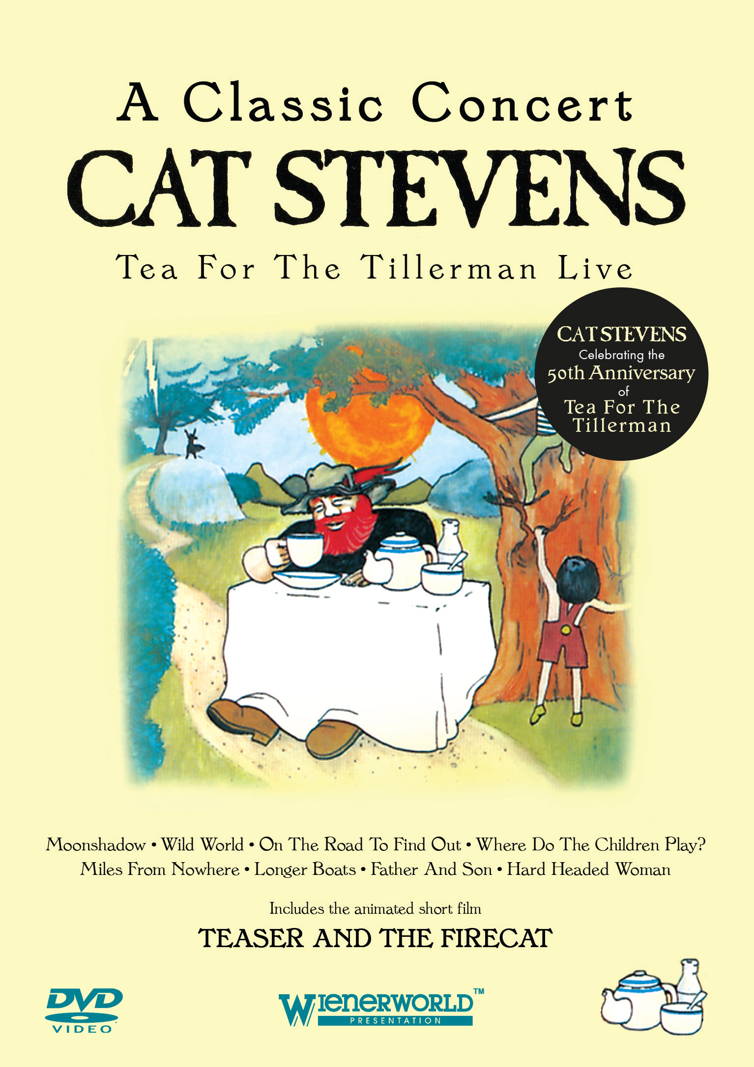 A Classic Concert: Cat Stevens – Tea For The Tillerman Live (50th Anniversary)